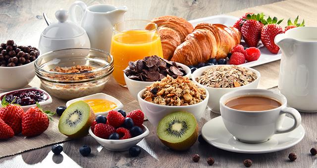 Breakfast is free for Gold, Platinum, Diamond and Diamond Select BWR® members!